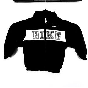 Nike Jackets & Coats - Nike Baby Black Wind Breaker Track Jacket